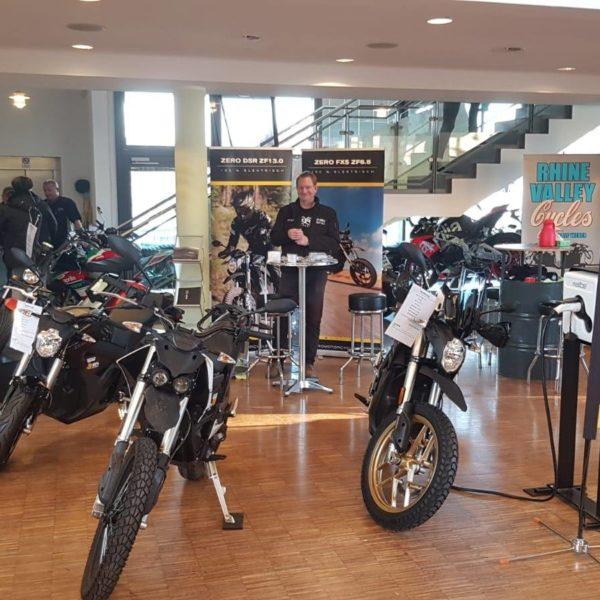 Motorradausstellung in Nieder-Olm